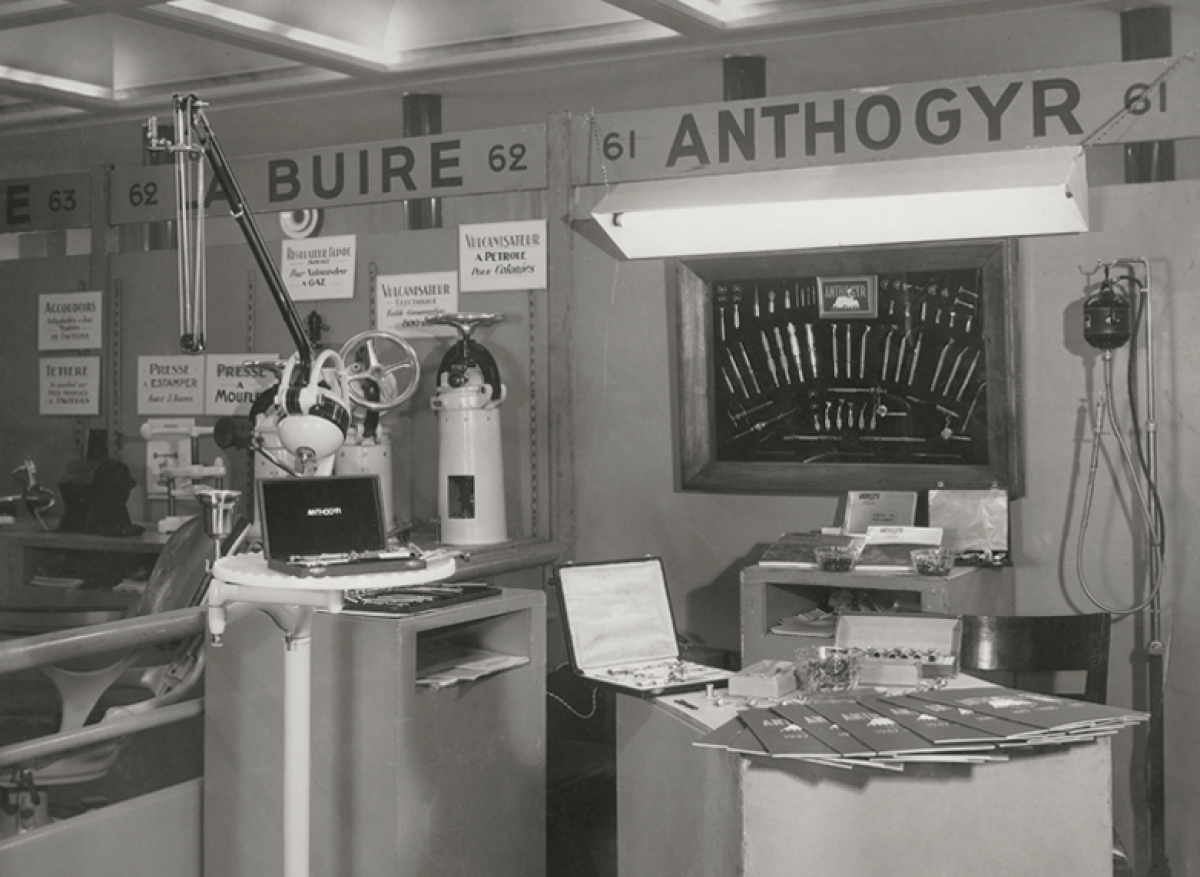 1949 : Anthogyr makes everything but the dentist's chair