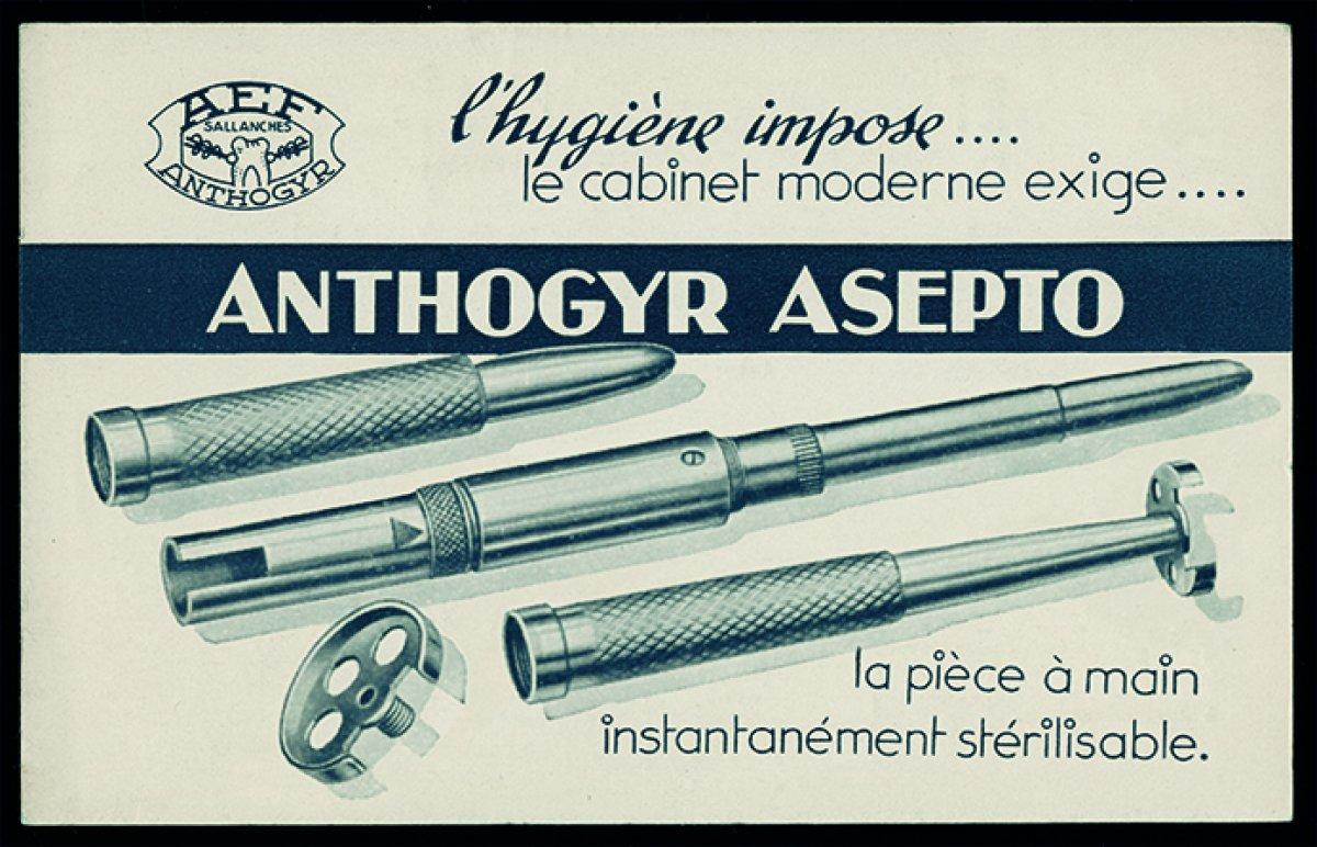 [Key moments in Anthogyr's history] 1947 : The foundation of Anthogyr