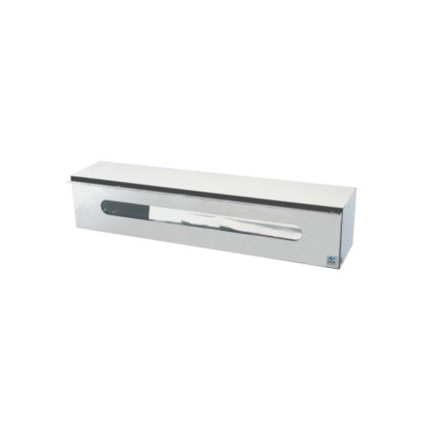 Stainless steel film and foil dispenser, wall hanging