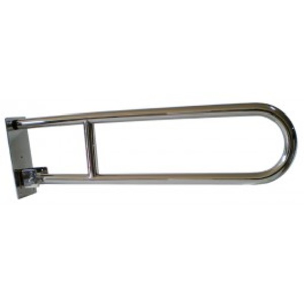 Stainless steel wall mounted swing hand rail 805 mm